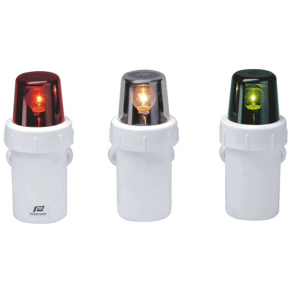 Led Boat Navigation Lights Battery: Bainbridge Marine > Emergency Nav Light (Set Of 3) LR20