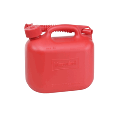 5L Fuel Jerry Can Red With Flexi Spout UN Certified