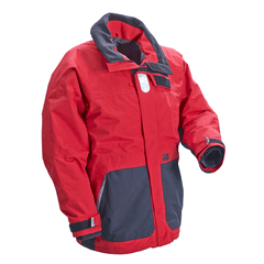 XM Coastal Jacket Red/Black Size LGE