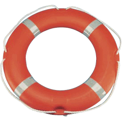 Lifebuoy Ring 2.5kg 75cm x 45cm Orange Solas