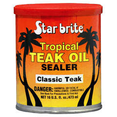Tropical Teak Oil & Sealer 500ml Classic Teak