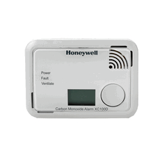 Battery Operated Carbon Monoxide Alarm 10 Year Life & Warranty, Inc Digital Display