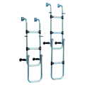 Folding Stainless Steel Transom Boarding Ladders
