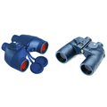 Binoculars with built in bearing compass