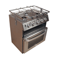 Neptune 5000 Series Marine Cooker with grill