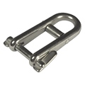 Shackle with Key Pin and Bar
