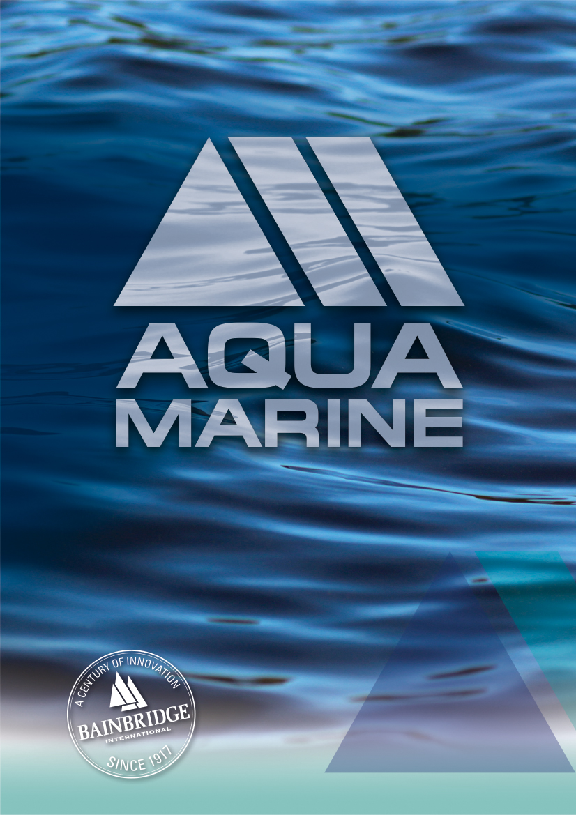 Front Cover of AquaMarine Catalogue