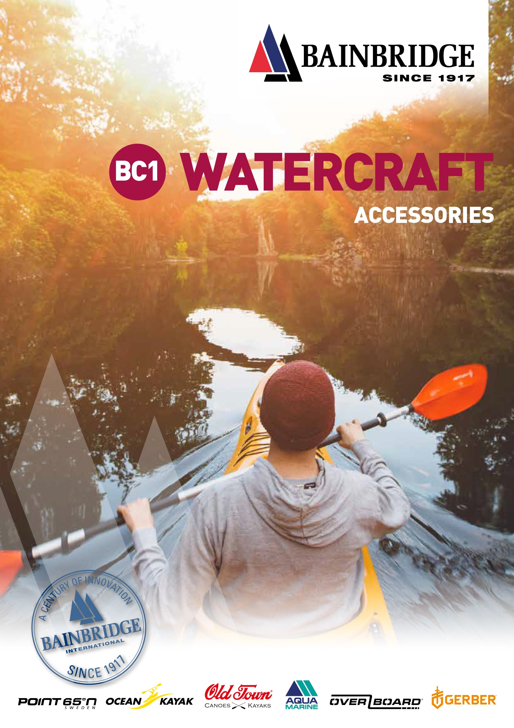 Front Cover of Watercraft Catalogue