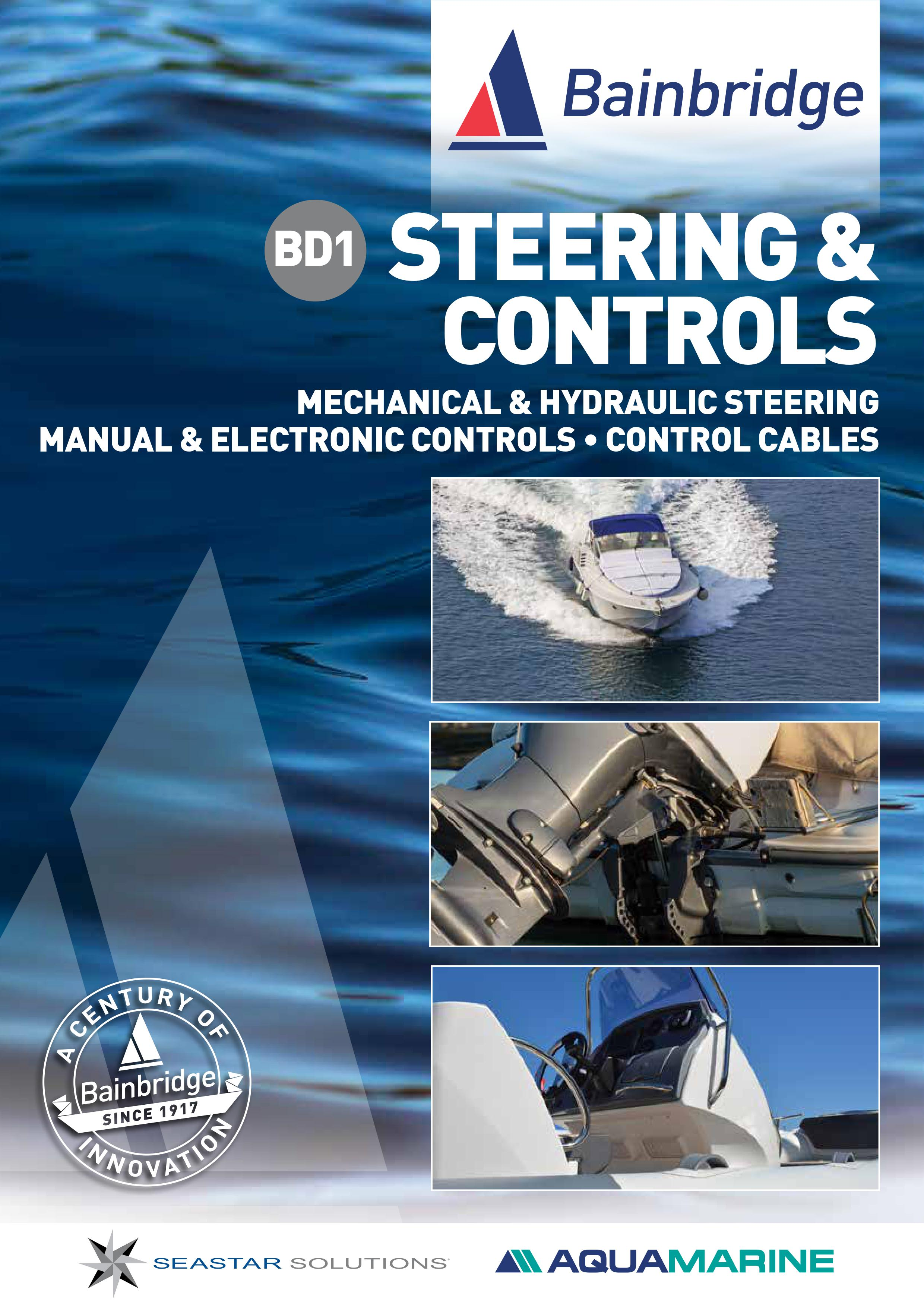 Front Cover of Steering & Controls Catalogue