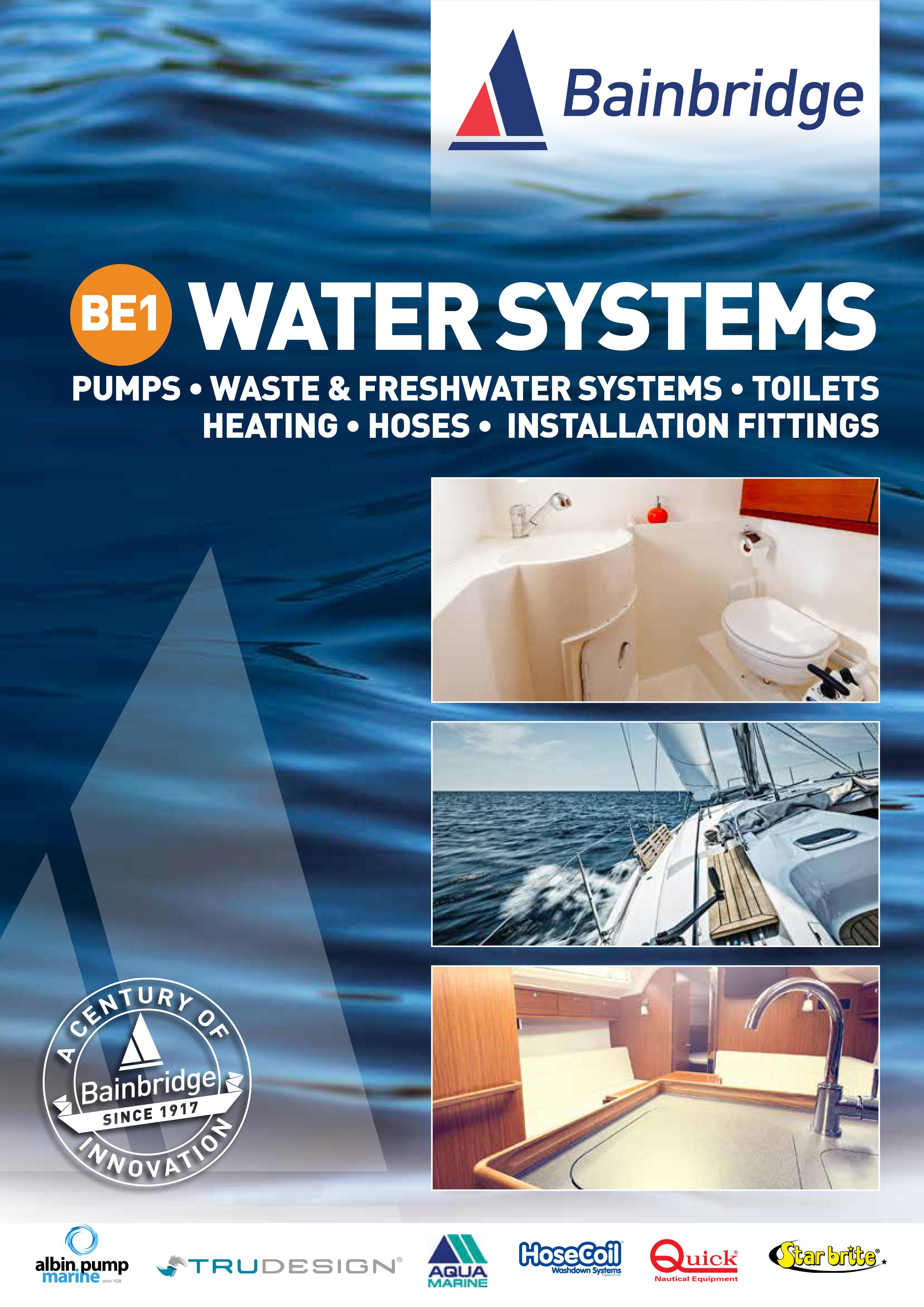 Front Cover of Water Systems Catalogue