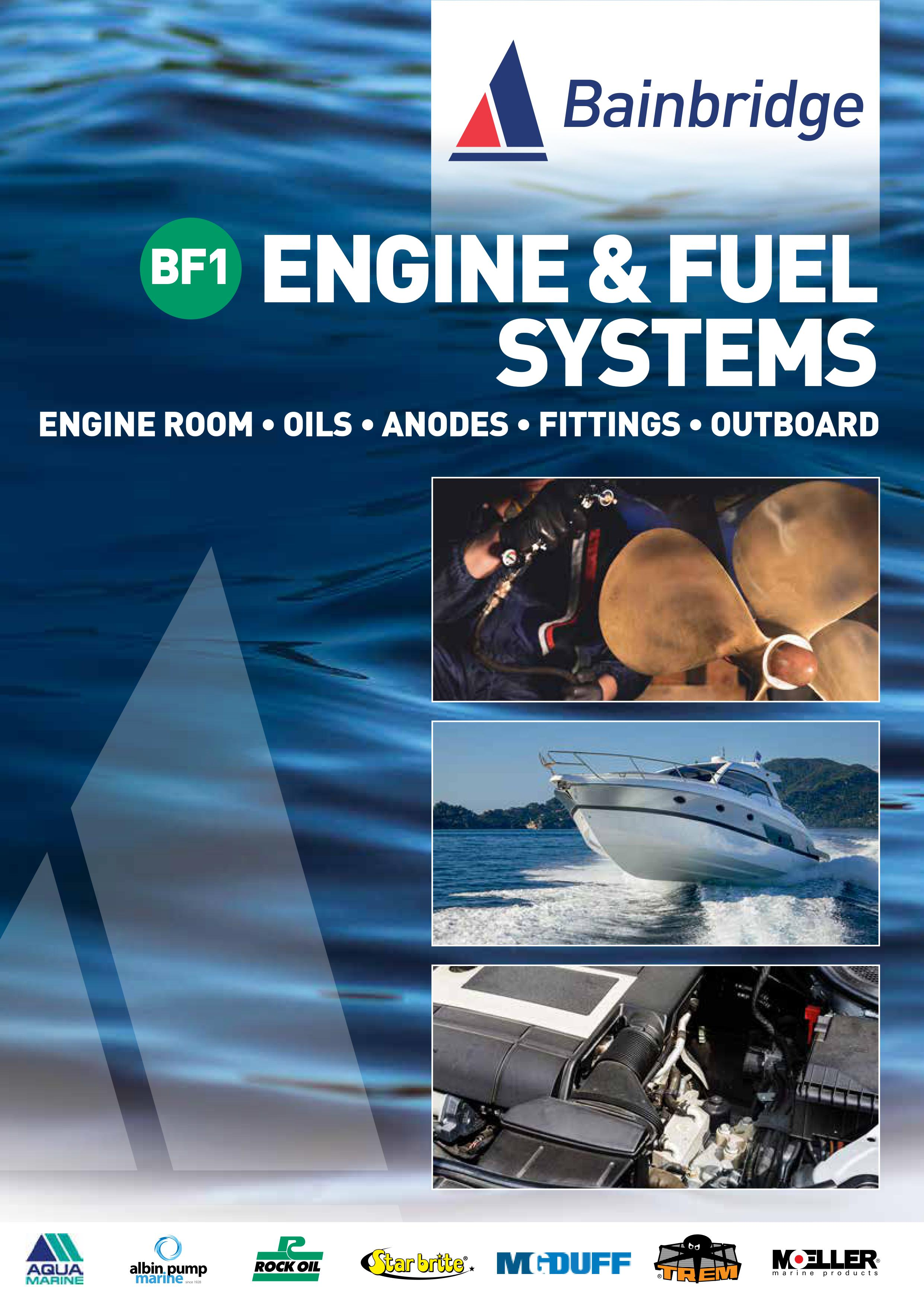 Front Cover of Engine and Fuel Systems Catalogue